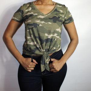 Women Army Shirt
